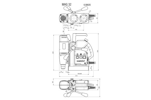 small resolution of metabo wiring diagram wiring diagram detailed respiration diagram mag 32 600635500 magnetic core drill