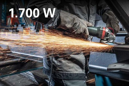 METABO Angle Grinder: More Power. In All Classes. 13