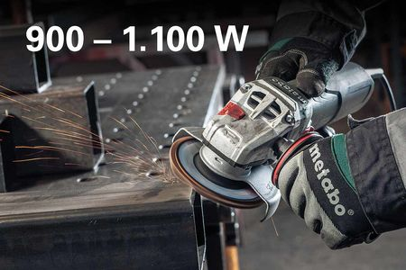 METABO Angle Grinder: More Power. In All Classes. 1