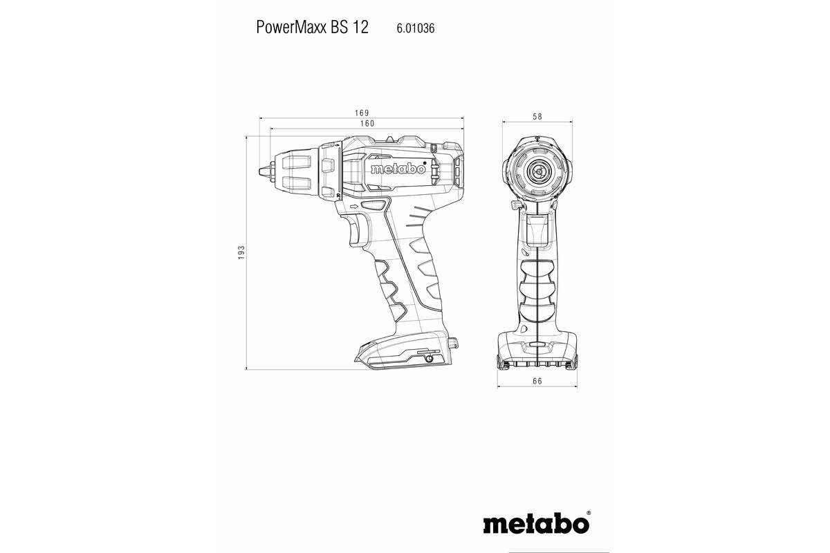 PowerMaxx BS 12 (601036800) Cordless Drill / Screwdriver