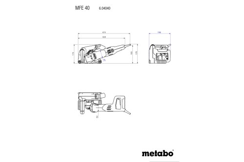 small resolution of metabo wiring diagram