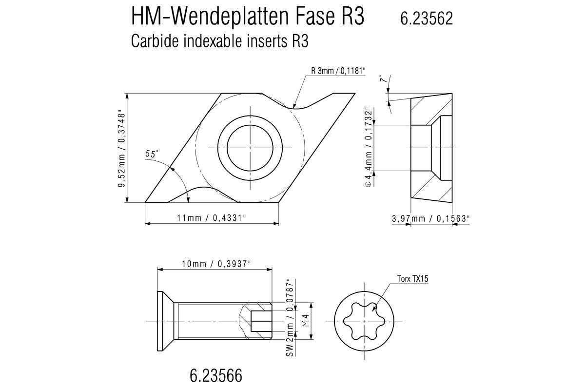 KFM 18 LTX 3 RF (601754750) Cordless beveling tool