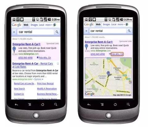 Marketing mobile local