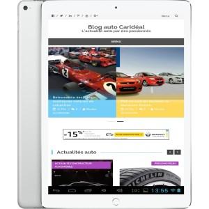 Créer un site internet automobile responsive pour tablette à destination des concessions automobile