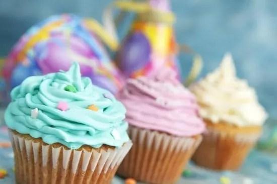 exemple de glaçage sur cupcakes