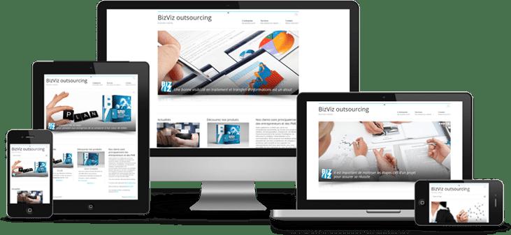 Créer un site responsif design