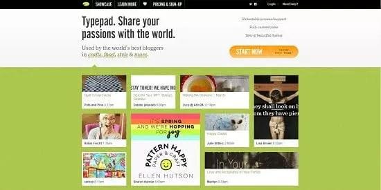 Plateforme de blog en ligne gratuit Typepad Micro