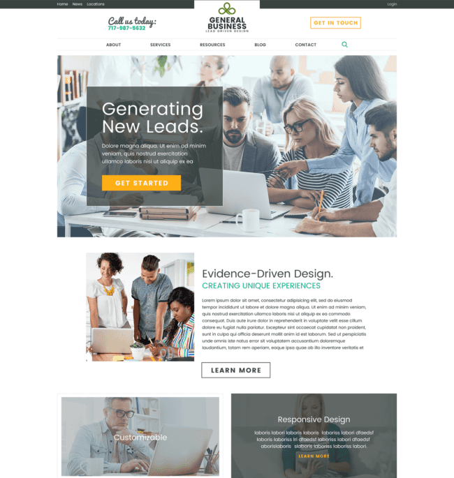 Rainmaker création de site internet Metadosi