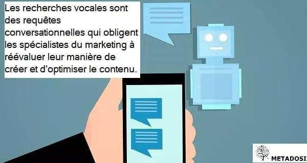 L'impact de la recherche vocale sur le marketing digital et de contenu