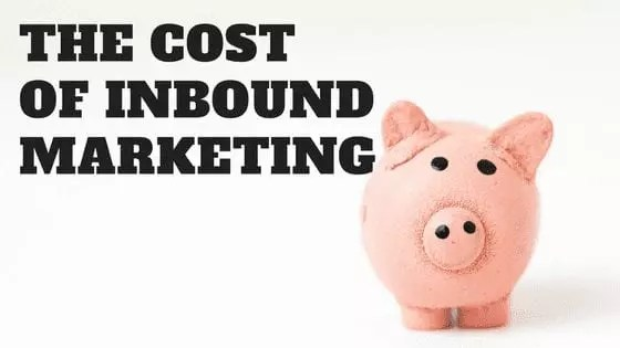 Pour chaque dollar dépensé en Inbound Marketing, 8 dollars sont dépensés en canaux de marketing payants