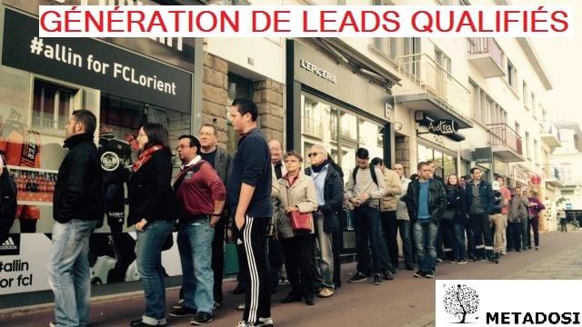 Génération de Leads pour votre entreprise
