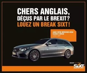 Campagne Twitter de Sixt