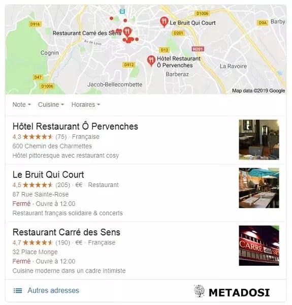 Qu'est-ce qu'un Pack local Google et comment bien vous classer dans ses résultats ?