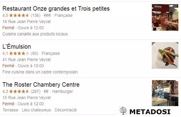 Stratégie de référencement local pour les Restaurants à Chambéry