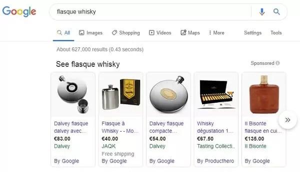 Annonces d'achat de produit