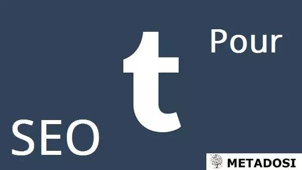 SEO pour Tumblr