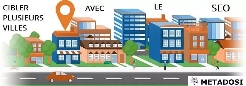 Ciblage Géographique : Comment cibler plusieurs villes avec le SEO