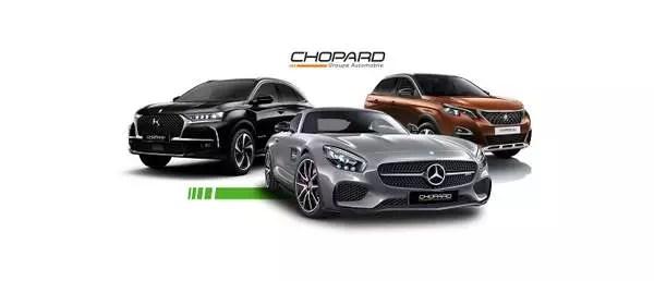Conception graphique d'un groupe automobile