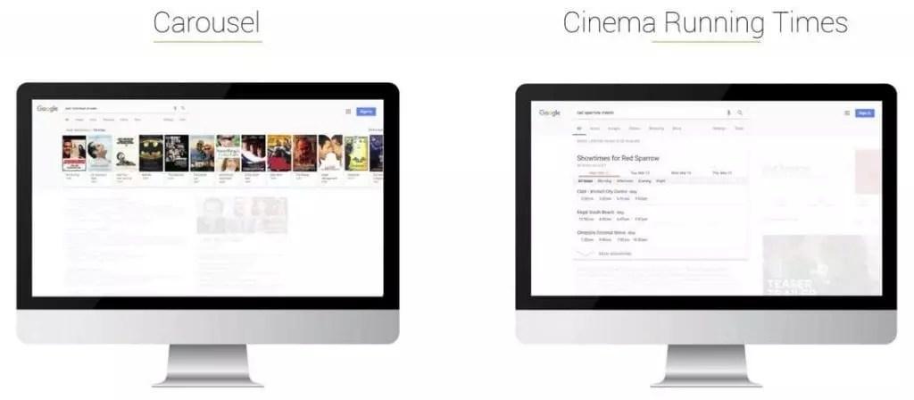 Carrousel & horaires séances de cinéma