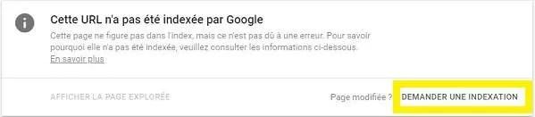 Comment soumettre une URL à Google pour l'indexer