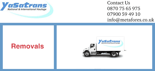 yasatrans removals