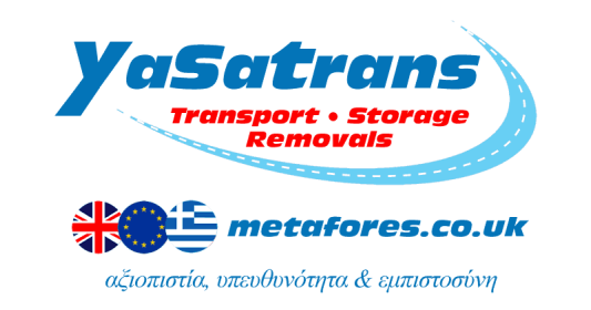 Yasatrans Metafores Greece UK Cyprus Europe Transport Storage Removals