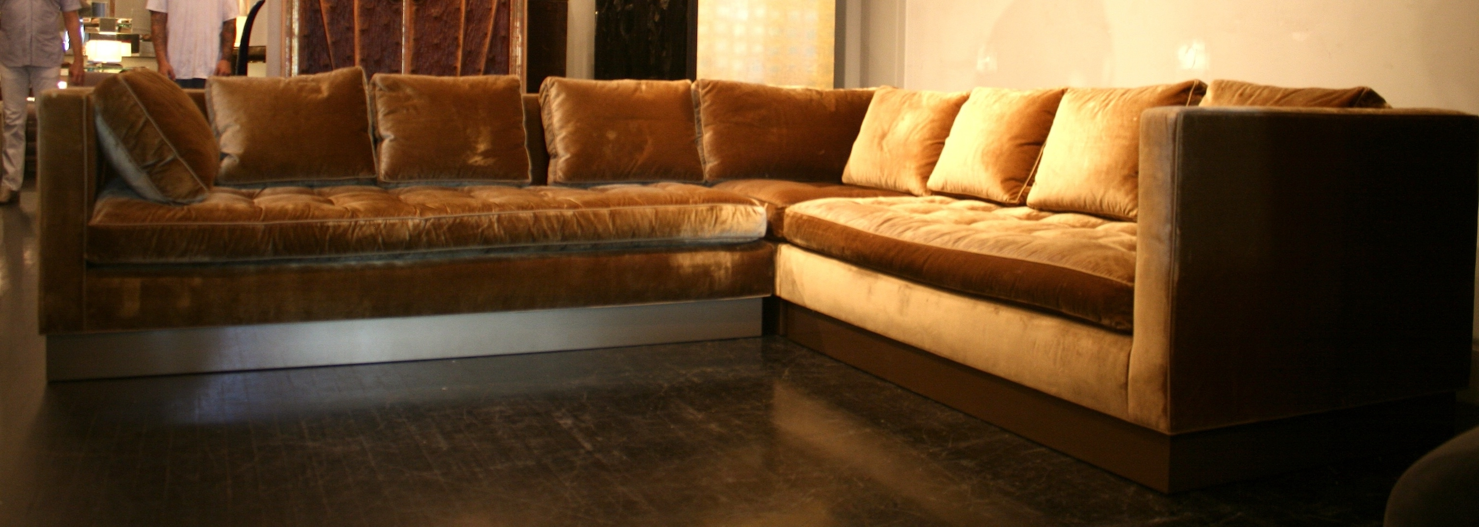 gold sectional sofa mueble cama abatible vertical con best 20 of sofas and newest intended for view 8