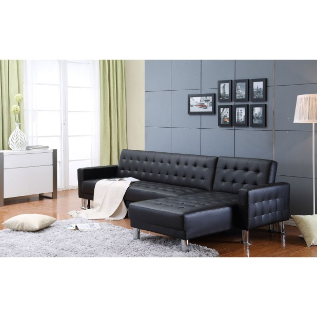 Leather Sectional Sofa Bed Kijiji