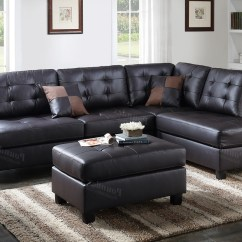 Los Angeles Sofas Custom Made Sofa Seat Covers Photo Gallery Of Sectional Showing 17 20 Photos Brown Leather And Ottoman Steal A Furniture Regarding Trendy