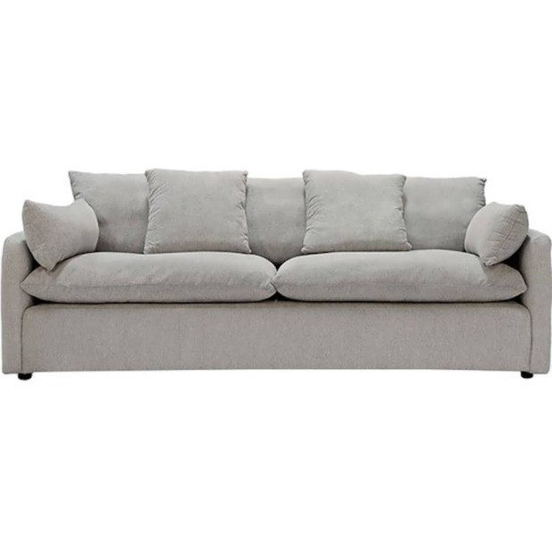 Paris Transitional Tufted White Leather Sectional Sofa: Kijiji Sofa Montreal