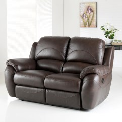 Modena 2 Seater Reclining Leather Sofa Double Bed Beds 20 Best Collection Of Recliner Sofas Most Popular Inside Cheap Loveseat With Console Used