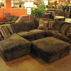 Large Plush Sectional Sofa Build A Bear Bed Showing Photos Of Sofas View 16 20 Regarding 2019 Magnificent With Chaise Reclining Gallery