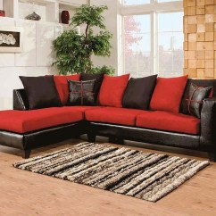Sierra Red Living Room Sectional Designs Traditional View Photos Of Black Sofas Showing 1 20 Cardinal 2 Piece Gallery