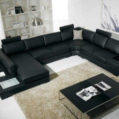 C Shaped Sofa Designs No Sew Cushion Covers Showing Gallery Of Sofas View 11 20 Photos Well Known With Black Modern Sectional End Table Corner Http