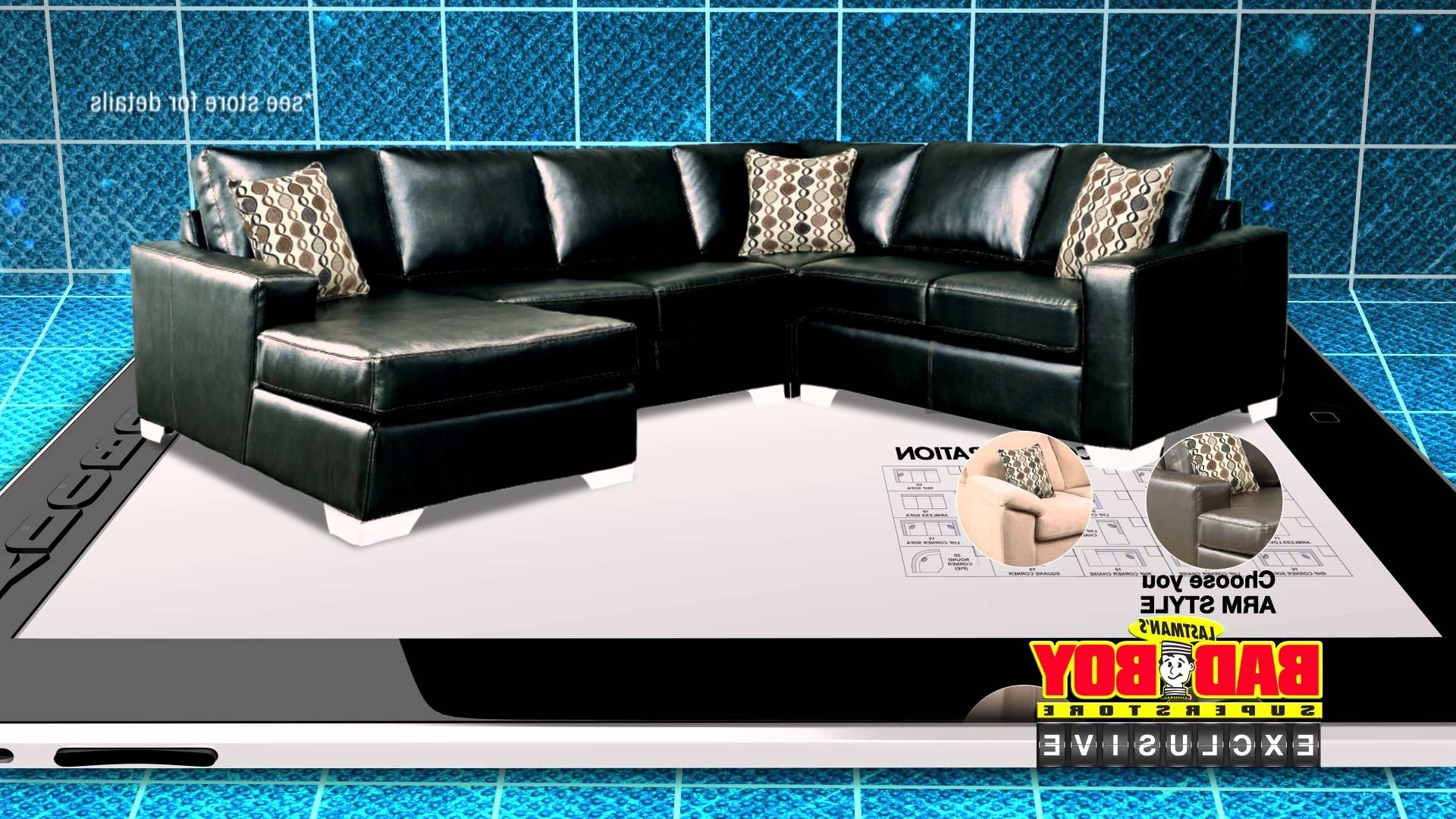 customize your sectional sofa for less livermore best 20 of sofas at bad boy well known intended have it way