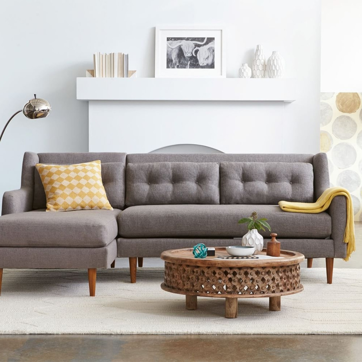 west elm dunham sofa reviews led set 2019 popular sectional sofas well known in crosby view 11 of