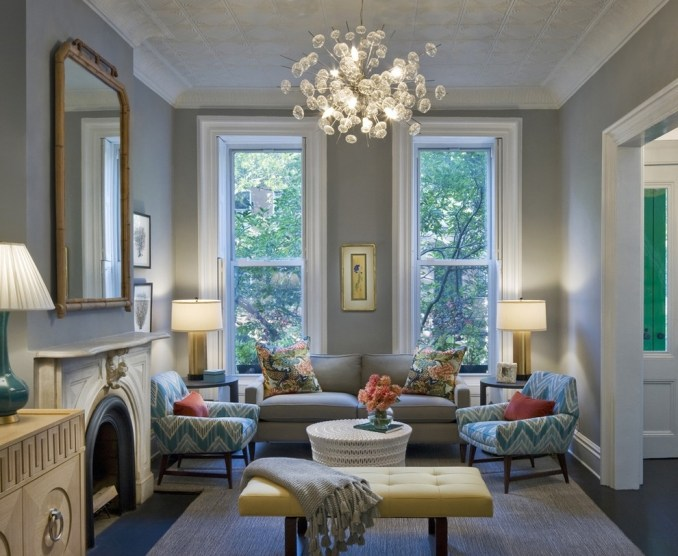Modern Simple Chandelier For Living Room