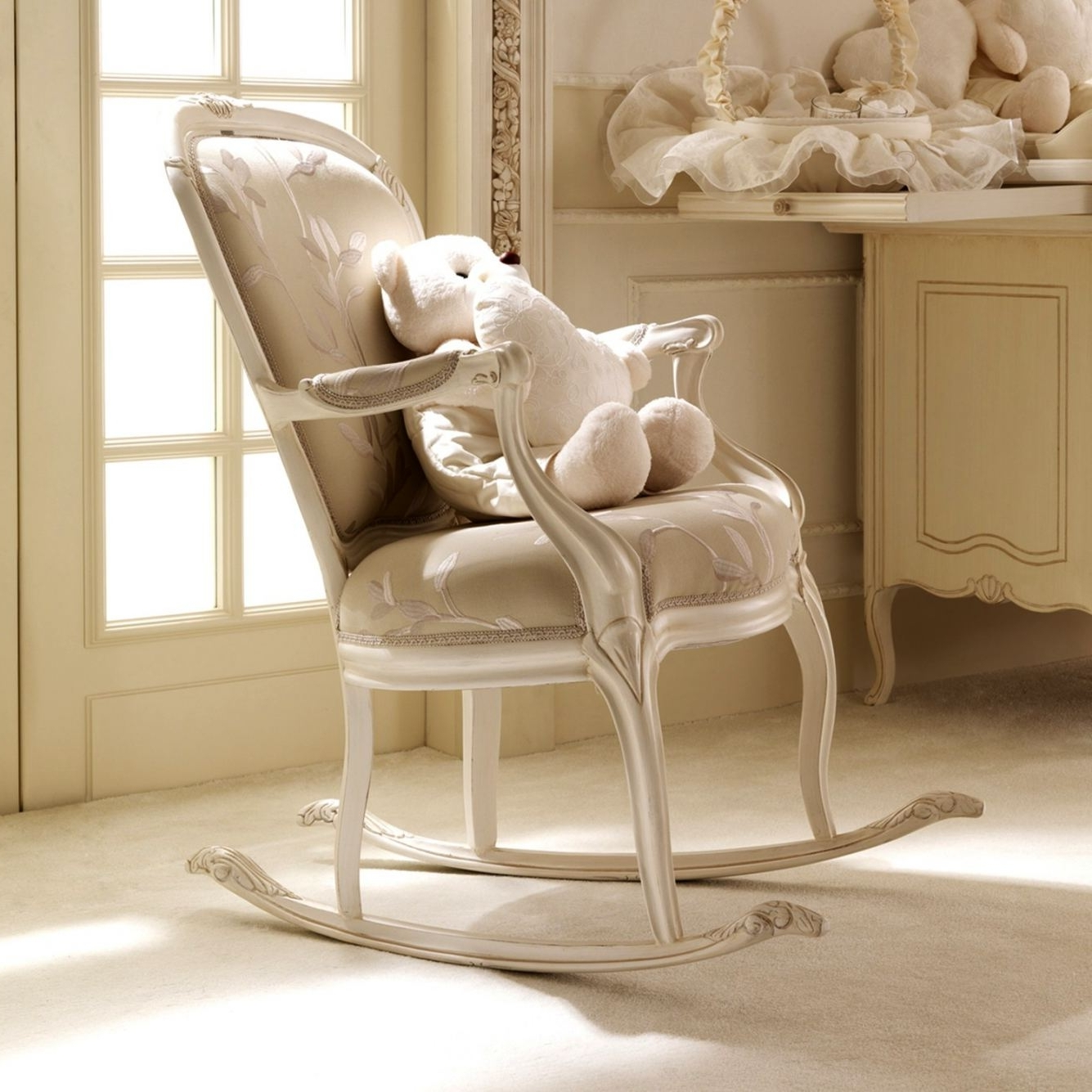 baby room rocking chair ikea ektorp review 20 inspirations of chairs for best and newest in nursery corner