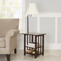 Walmart Living Room Tables Country With Gray Walls Displaying Photos Of Table Lamps View 11 20 Better Homes Gardens 3 Rack End Floor Lamp Espresso Finish Intended For Latest