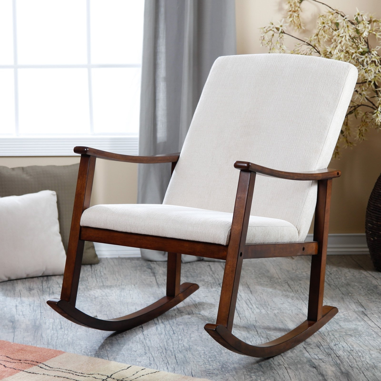 small rocking chairs office chair lift cylinder 2019 popular for spaces featured photo of