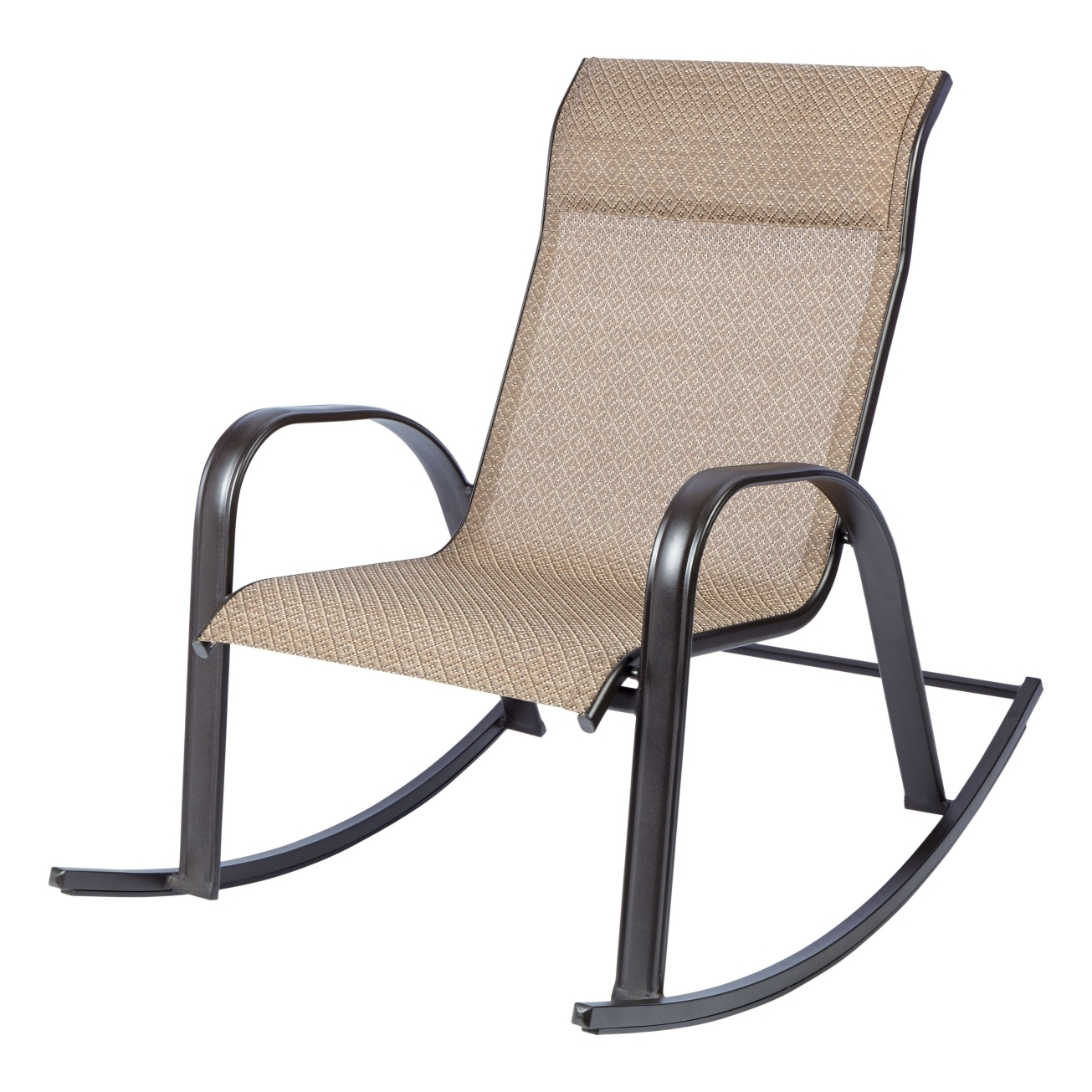newport rocking chair fabric swivel and footstool image gallery of stackable patio chairs view 1 20 photos living accents brown outdoor dining pertaining to favorite