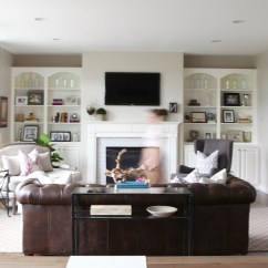 Pottery Barn Living Room Gallery Small Ideas With Tv Over Fireplace Photos Of Table Lamps For Showing 14 20 Widely Used Family Friendly Throughout