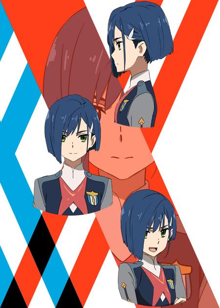 ichigo-personagens darling in the franxx