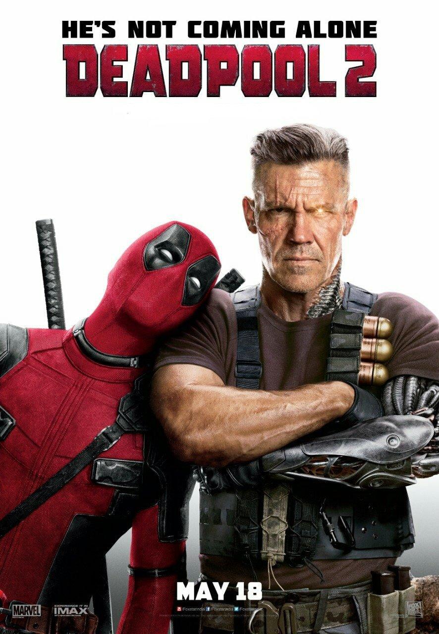 Deadpool 2-poster