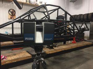 SCANNER FARO S70 metal 3D