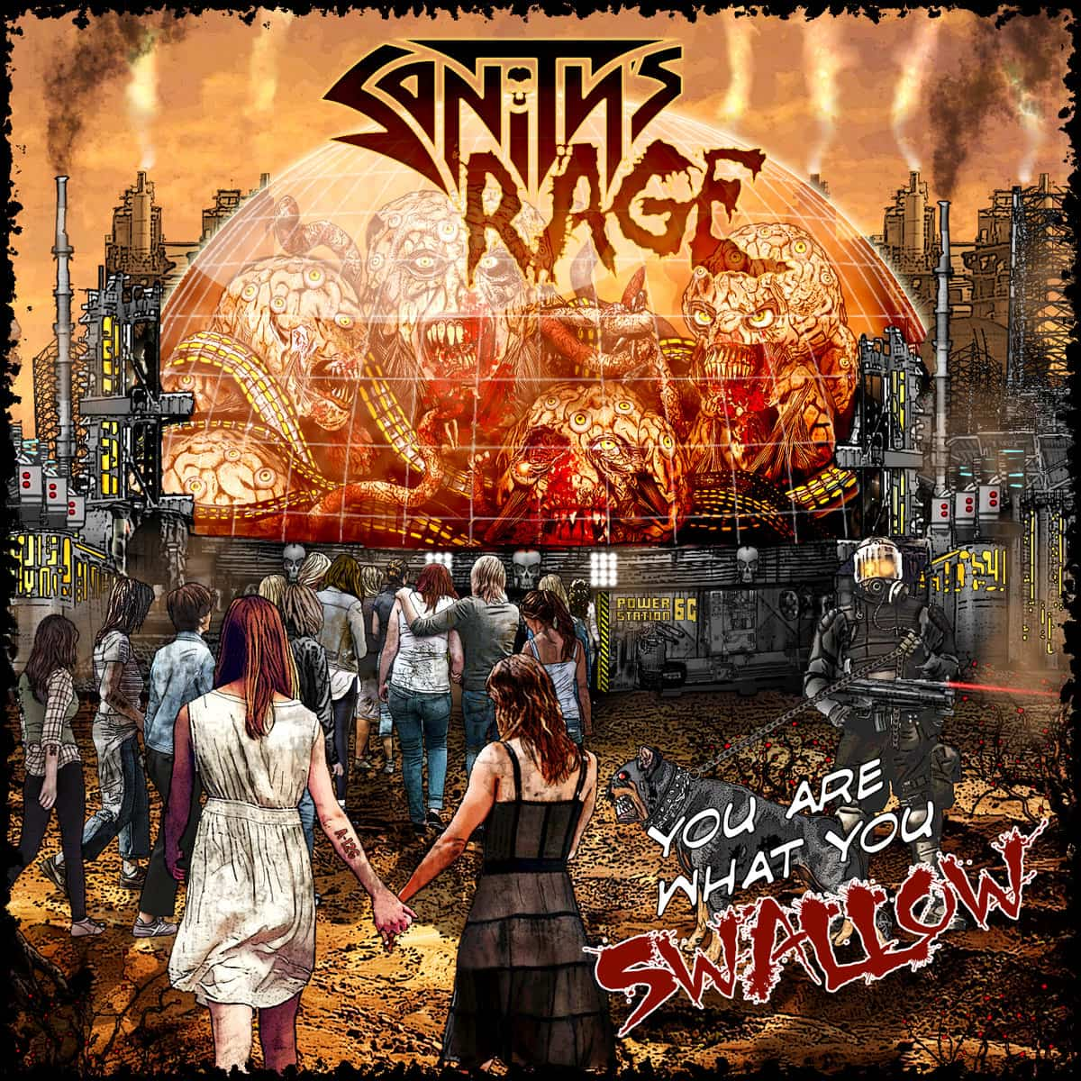 Sanity's Rage - You Are What You Swallow