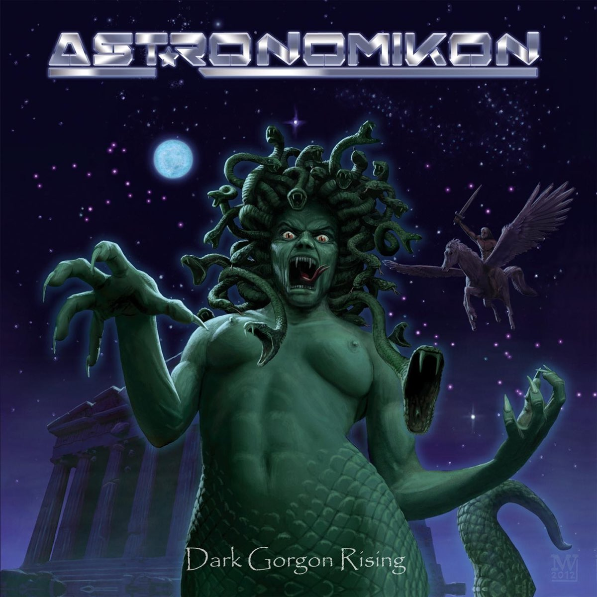 Dark Gorgon Rising by Astronomikon cover art