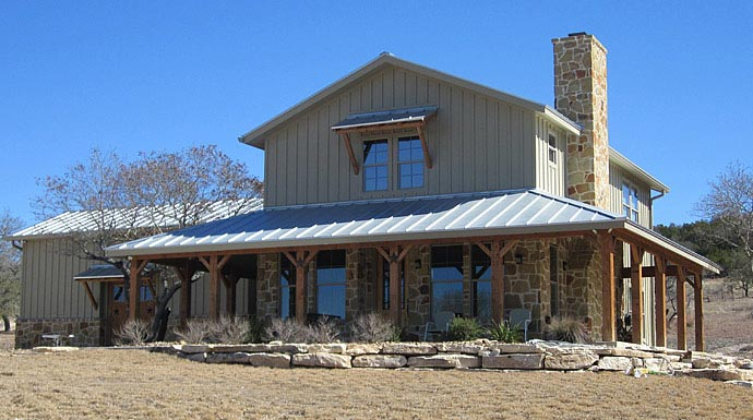 Lovely Ranch Home W Wrap Around Porch In Texas! HQ Plans