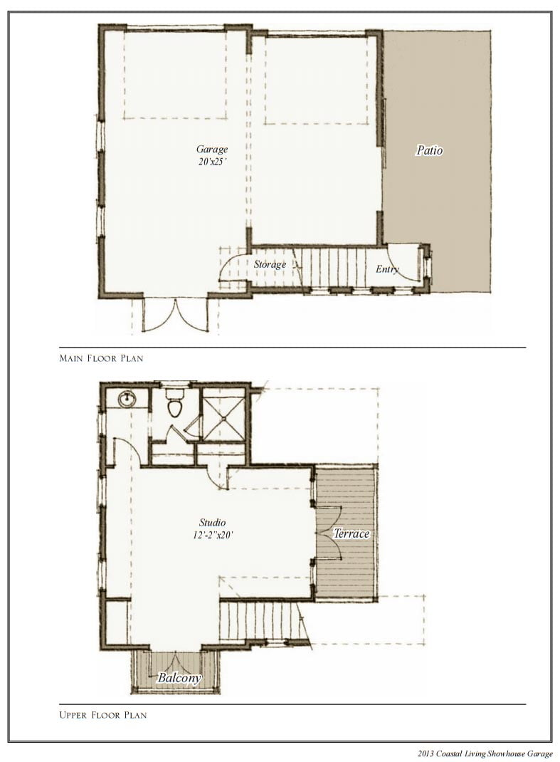 Southern Living House Perfect For A Couple Plans