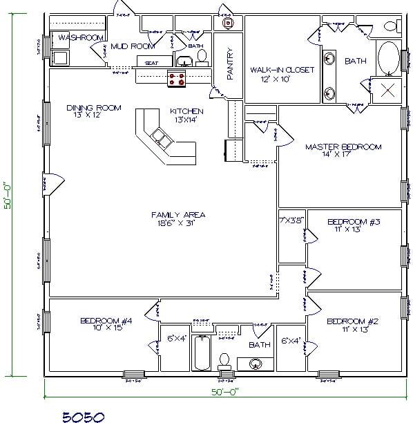 Plans Oklahoma Floor Plans For Barndominiums Metal Barn